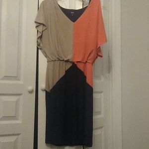 Color-block dress